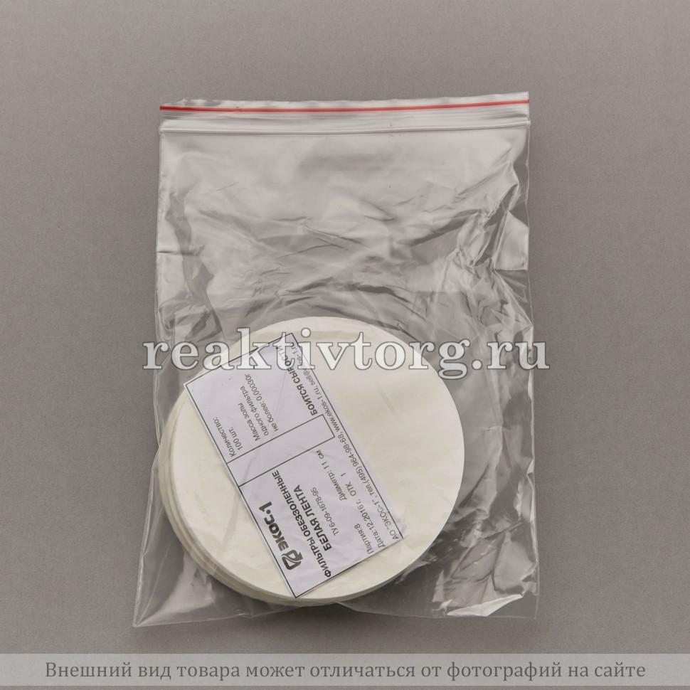 Фильтры обеззоленные белая лента