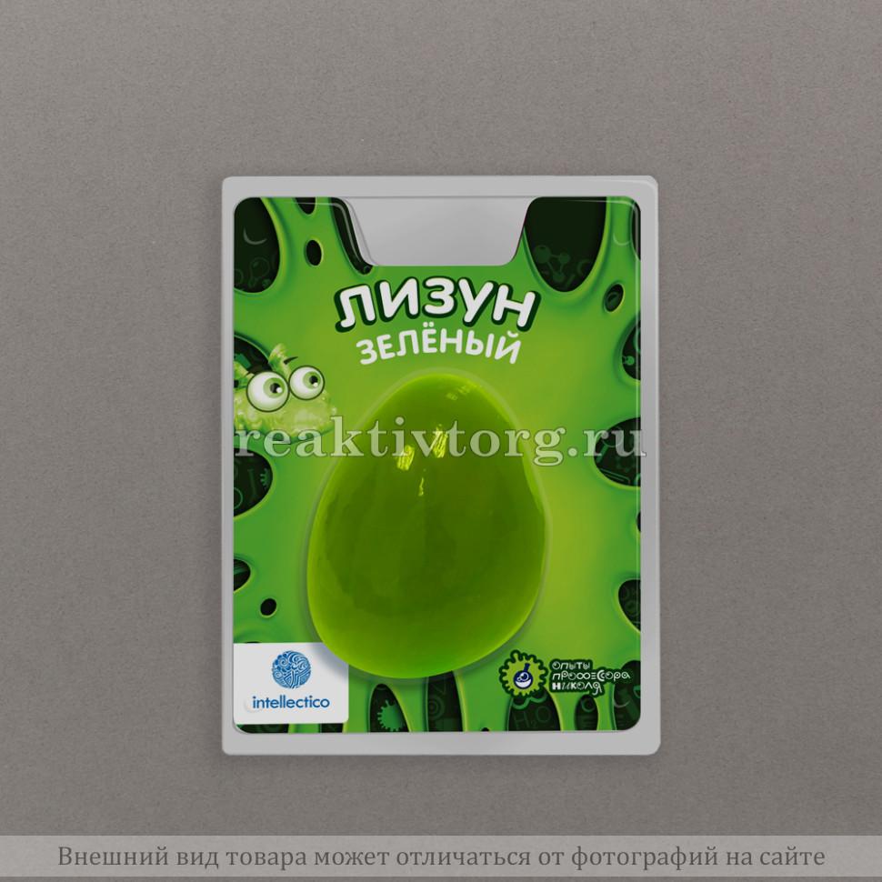 Лизун цветной зеленый