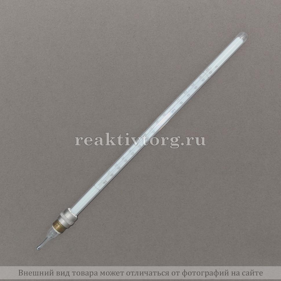 Термометр ТН-4 №2 100-250 ц.д. 1°С ртутный стеклянный (к прибору Уббелоде)