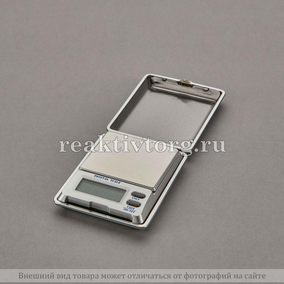 Весы портативные электронные в футляре 0,01-100гр