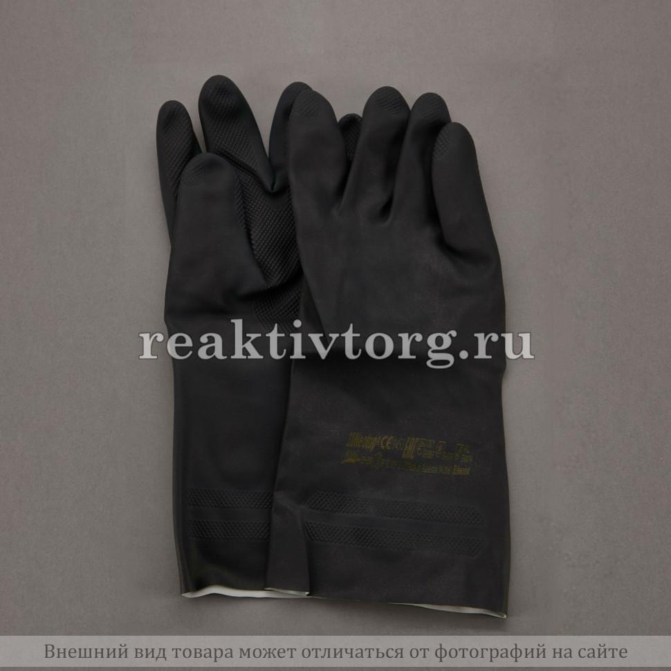 Перчатки черные из неопрена