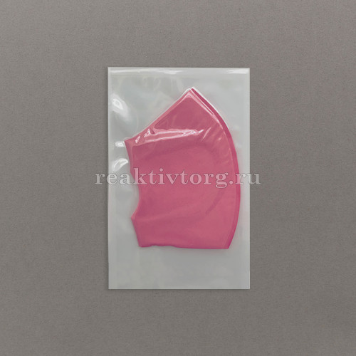 Маска защитная неопреновая розовая